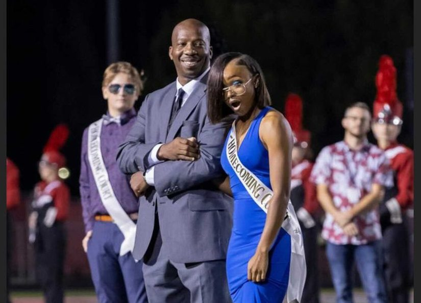 Homecoming Court King and Queen